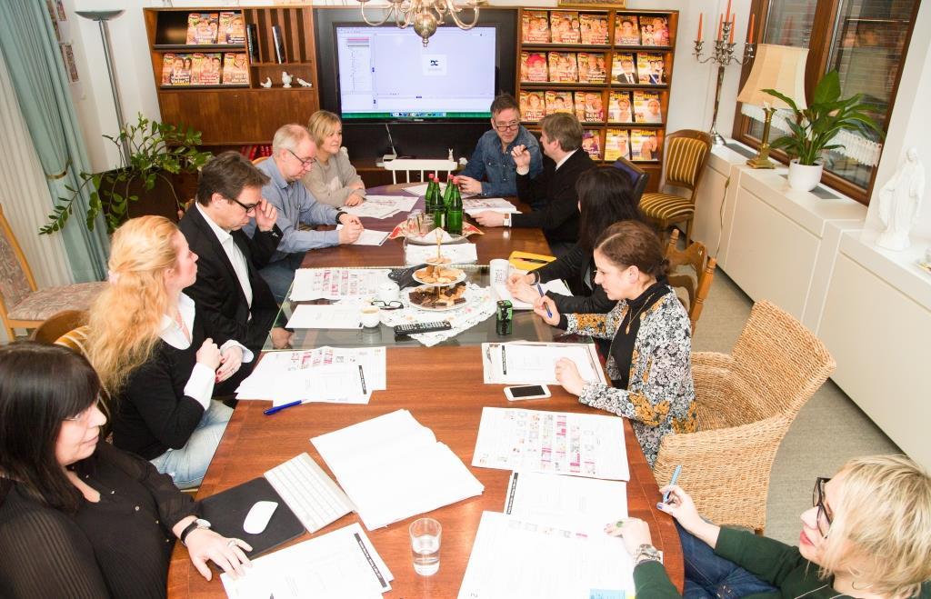 Interview Roland Hag, Chefredakteur Neue Post / Konferenzraum / 060317