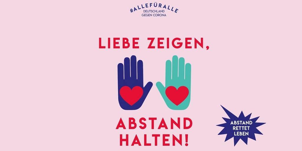 #allefüralle - Deutschland gegen Corona