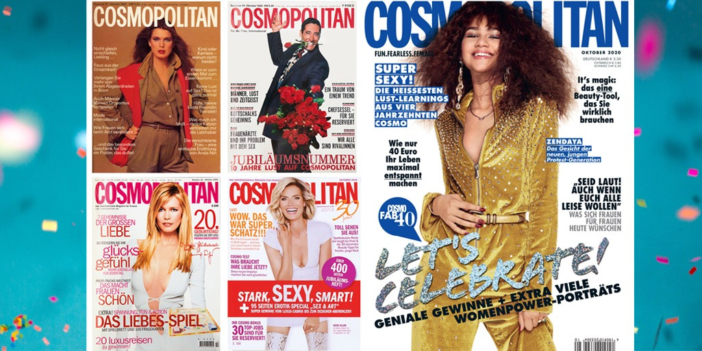 Happy Birthday, COSMOPOLITAN!