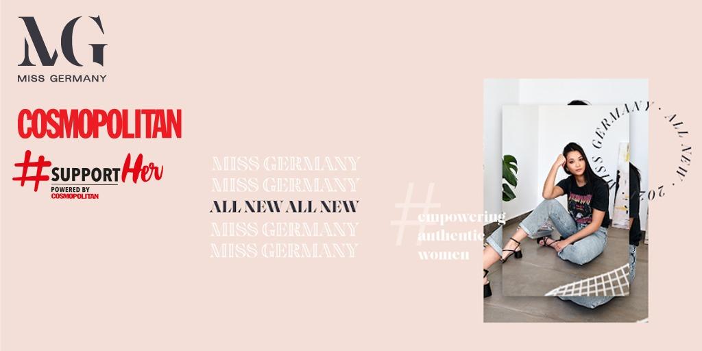 COSMOPOLITAN x Miss Germany – 100 Prozent Empowerment