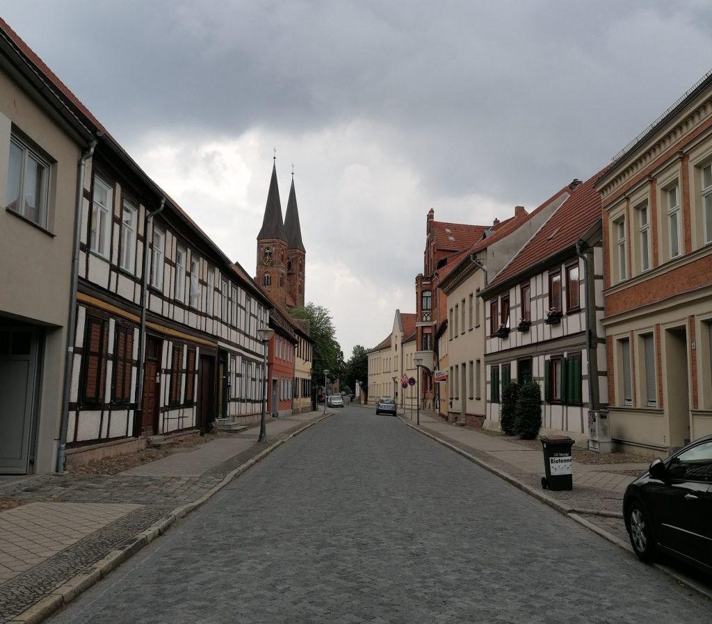 Blick auf die Stendaler Innenstadt